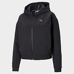 Women's Puma Favorite Fleece Full-Zip Hoodie (Plus Size)