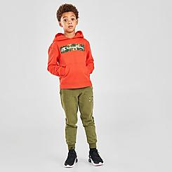 Boys' Toddler and Little Kids' Champion Camo Box Script Hoodie and Jogger Pants Set
