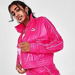 Women's Puma Iconic T7 Woven Track Jacket