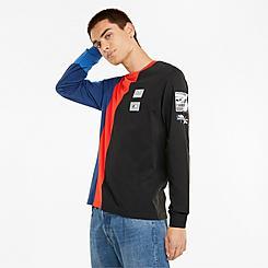 Men's Puma BMW Motorsport Street Long-Sleeve T-Shirt