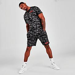 Men's Puma Camo Allover Print Shorts