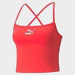 Women's Puma Classics Crop Bra Top