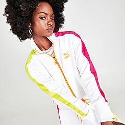 Women's Puma Iconic T7 Cropped Track Jacket