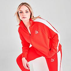 Women's Puma Iconic T7 Track Jacket (Plus Size)