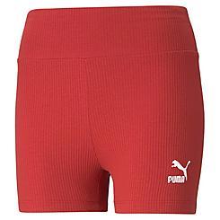 Women's Puma Classics Ribbed Bike Shorts