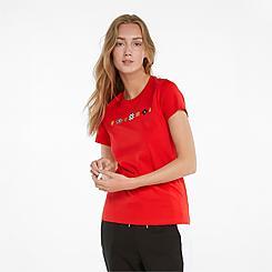 Women's Puma AS Graphic T-Shirt