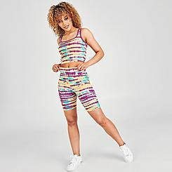 Women's Puma Tie-Dye Bike Shorts