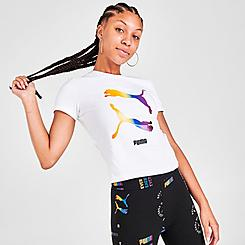 Women's Puma Pride Fitted T-Shirt