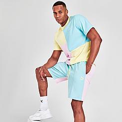 Men's Puma Classics Pintuck Shorts