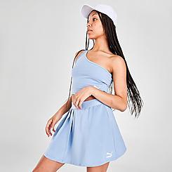 Women's Puma Classics Asymmetric Skirt