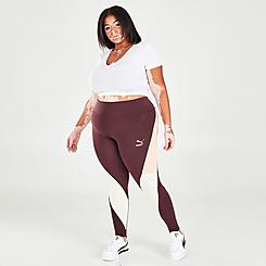 Women's Puma CLSX High-Waist Leggings (Plus Size)