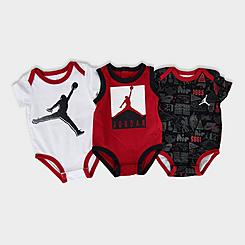 Boys' Infant Jordan Air Element Bodysuit Set (3-Pack)