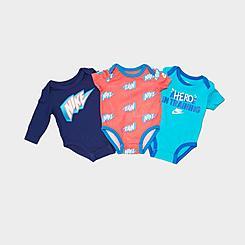 Infant Nike G4G Bodysuit Set (3-Pack)