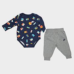 Boys' Infant Nike Friendship Bracelet Bodysuit and Jogger Pants Set
