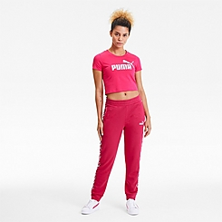 Women's Puma Amplified Track Jogger Pants