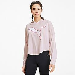 Women's Puma Modern Sports Cover Up Hooded Top