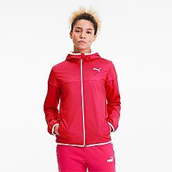 Women's Puma Essentials Solid Windbreaker Jacket