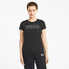 Women's Puma Rebel Graphic T-Shirt