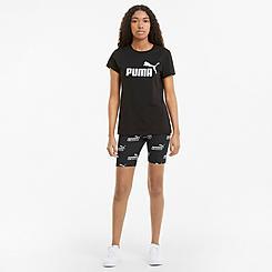 Women's Puma Amplified Allover Print 7 Inch Bike Shorts