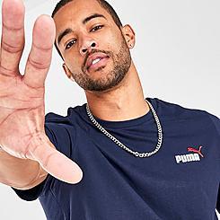 Men's Puma Essentials Embroidery Logo T-Shirt