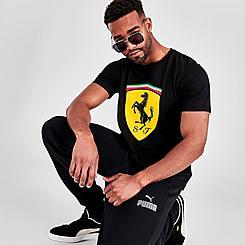 Men's Puma Scuderia Ferrari Race Big Shield T-Shirt
