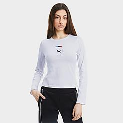 Women's Puma BMW M Motorsport Street Long-Sleeve T-Shirt