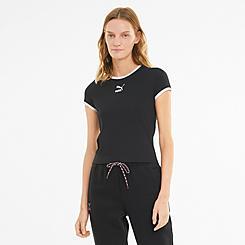 Women's Puma Classics Fitted T-Shirt