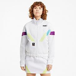 Women's Puma International Double Knit Track Jacket