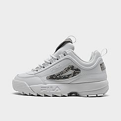 Women's Fila Disruptor 2 Snake Accent Casual Shoes