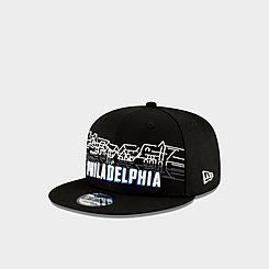 New Era Philadelphia 76ers NBA Cityscape 9FIFTY Snapback Hat