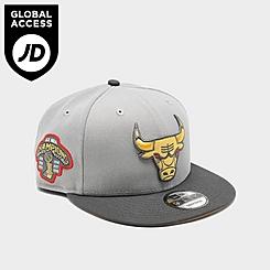 New Era Chicago Bulls NBA 6x Championship 9Fifty Snapback Hat