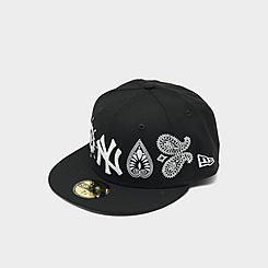 New Era New York Yankees MLB Paisley Elements Fitted 59FIFTY Hat