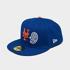 New Era New York Mets MLB Patchwork Undervisor 59Fifty Fitted Hat