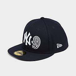 New Era New York Yankees MLB Patchwork Undervisor 59Fifty Fitted Hat