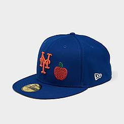 New Era New York Mets Crystal Icons MLB 59Fifty Fitted Hat