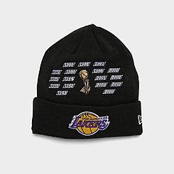 New Era Los Angeles Lakers NBA Champions Knit Beanie Hat