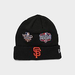 New Era San Francisco Giants MLB Champions Knit Beanie Hat