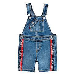 Boys' Infant Levi's® Logo Tape Denim Overalls
