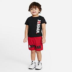 Kids' Infant Jordan Jumpman T-Shirt and Shorts Set