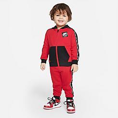 Boys' Infant Jordan Jumpman Full-Zip Jacket and Jogger Pants Set