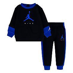 Boys' Infant Jordan Jumpman Crewneck Sweatshirt and Jogger Pants Set