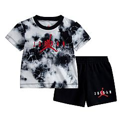 Boys' Infant Jordan Jumpman Tie-Dye T-Shirt and Shorts Set