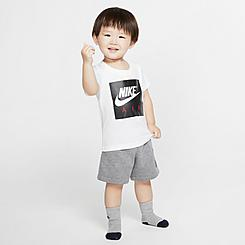 Infant Nike Air T-Shirt and French Terry Shorts Set