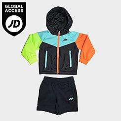 Boys' Infant Nike See Me Full-Zip Jacket and Shorts Set