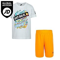 Boys' Infant Nike JDI Graphic T-Shirt and Shorts Set