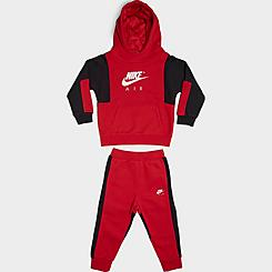 Boys' Infant Nike Air Pullover Hoodie and Joggers Set