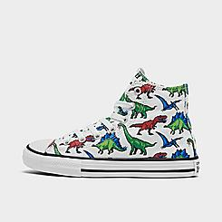 Boys' Little Kids' Converse 8-Bit Dino Chuck Taylor All Star Casual Shoes