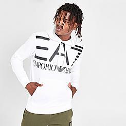 Men's EA7 Emporio Armani Oversized Logo Hoodie