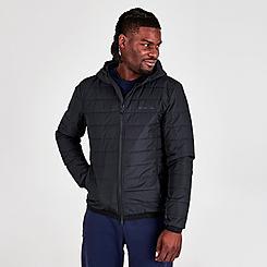 Men's EA7 Emporio Armani Logo Tape Padded Jacket