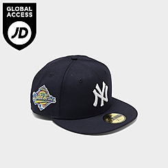 New Era New York Yankees MLB 1996 World Series Patch 59FIFTY Fitted Hat